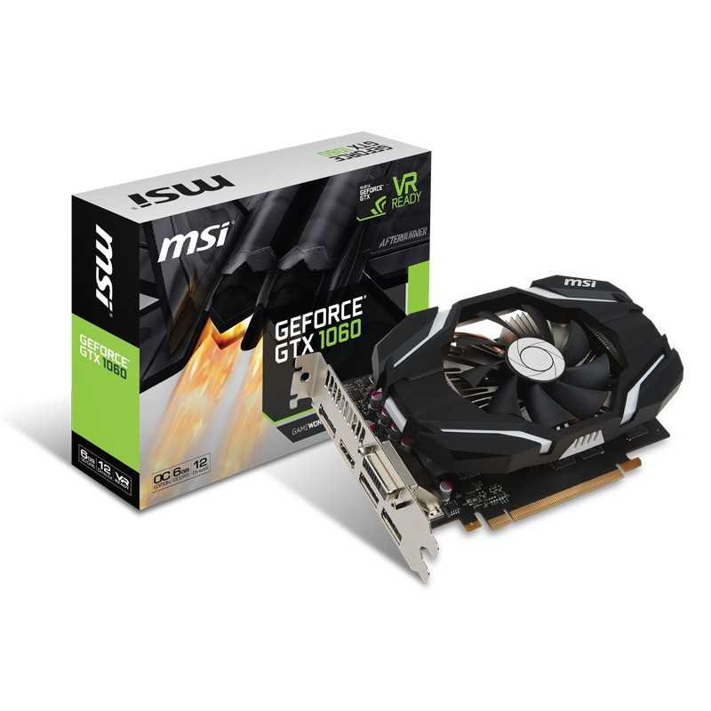 msi geforce gtx 1060 6g oc achat vente carte graphique pas cher. Black Bedroom Furniture Sets. Home Design Ideas
