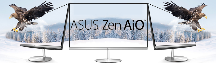 Asus All-in-one Zen AiO ZN242GDK-CA003R !