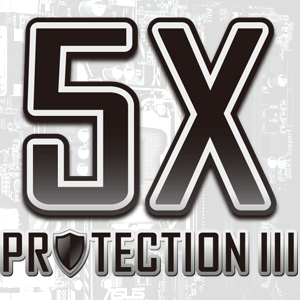 Nouvelle technologie Asus 5X Protection III